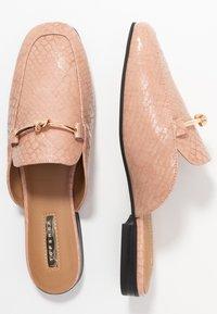 Topshop - ADA MULE LOAFER - Mules - pink - 3