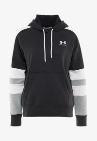 Under Armour - RIVAL LOGO HOODIE NOVELTY - Hoodie - black/onyx white - 4