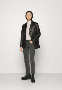 ARKET - Jeans straight leg - washed black - 1