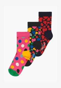Happy Socks - KIDS HEART 3 PACK - Socks - multi-coloured - 0