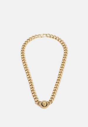 LION COIN CHAIN NECKLACE UNISEX - Halskæder - gold-coloured