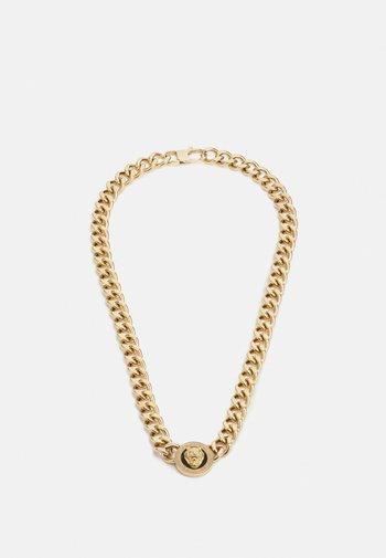 LION COIN CHAIN NECKLACE UNISEX - Necklace - gold-coloured