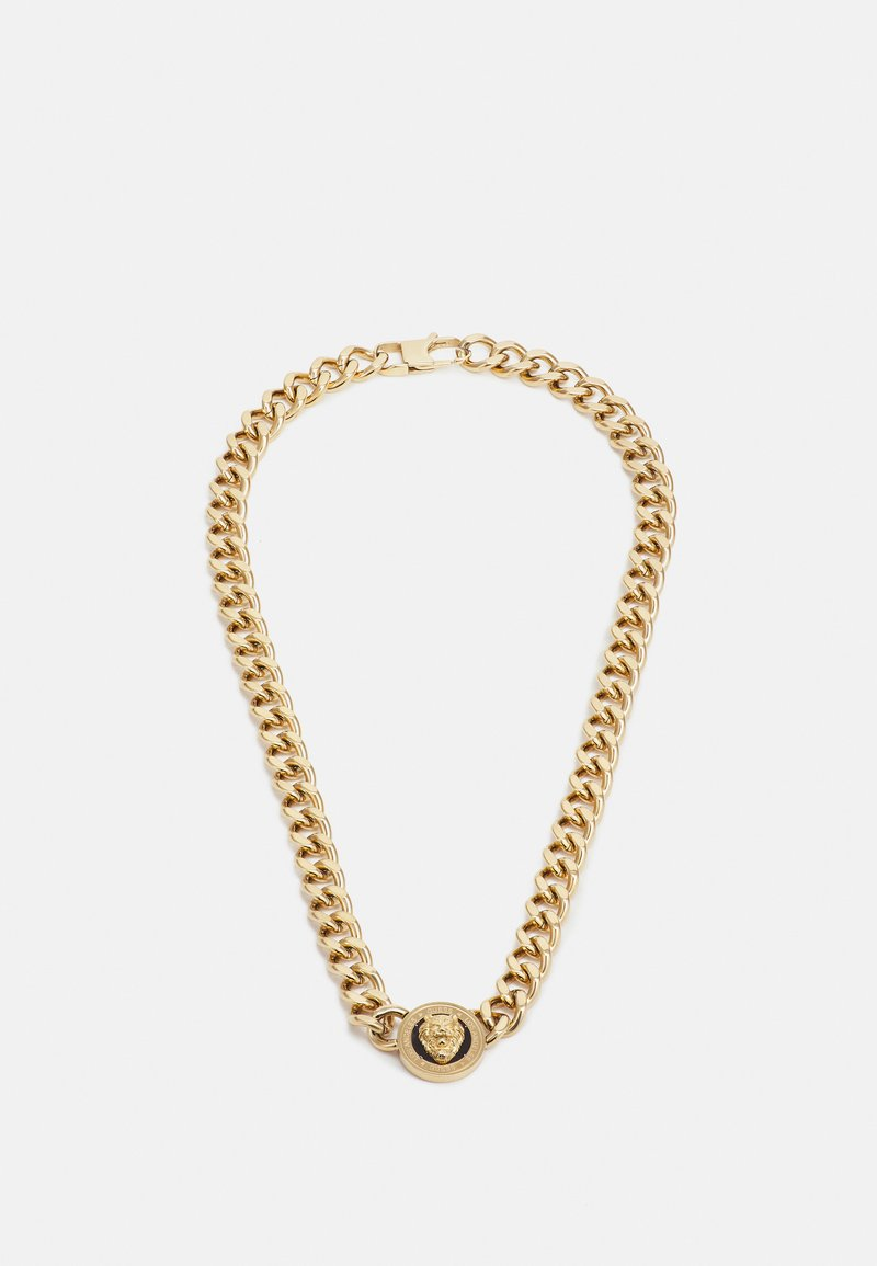 Guess - LION COIN CHAIN NECKLACE UNISEX - Collar - gold-coloured