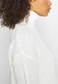 Missguided Tall - ROLL NECK BASIC DRESS - Jumper dress - off white - 5