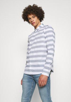 BOLD STRIPE  - Overhemd - white/grey