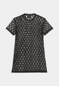 Sixth June - MONOGRAM TEE - Sukienka letnia - black - 1