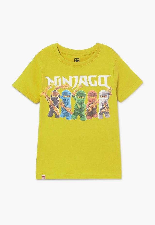 T-Shirt print - lime green