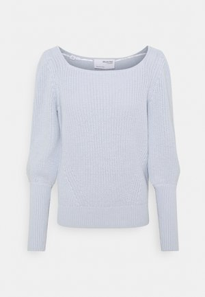 SLFKRYA SQUARE NECK EX - Jumper - arctic ice