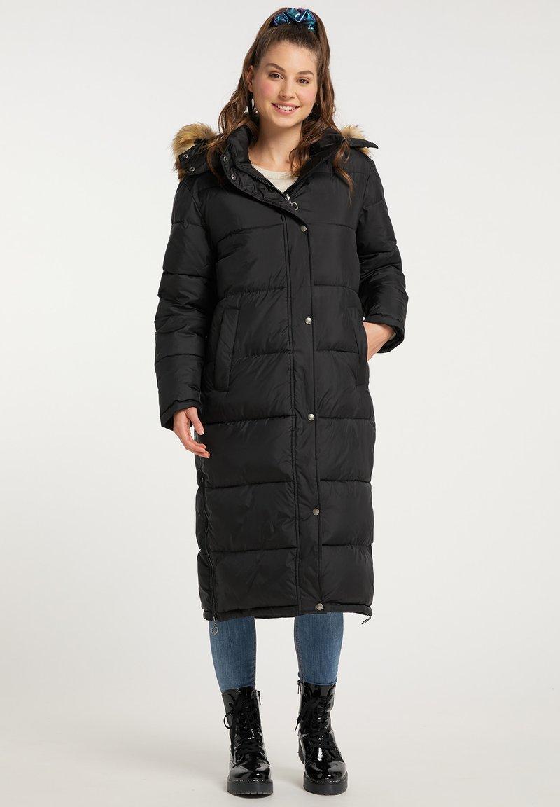 myMo - Winter coat - schwarz