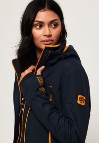 Superdry - VELOCITY - Outdoor jacket - navy blue - 3