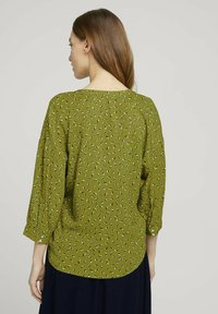 TOM TAILOR - Blouse - green geometrical design - 2