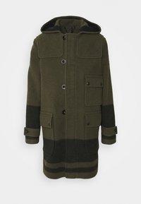 Belstaff - BORDER DUFFLE COAT - Classic coat - salvia/black - 0