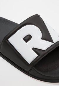 G-Star - RAW CART SLIDE II - Mules - black/white - 6