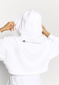 adidas by Stella McCartney - HOODIE - Long sleeved top - white - 3