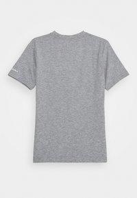 Converse - PRINTED SNEAKER TEE - Print T-shirt - dark grey heather - 1