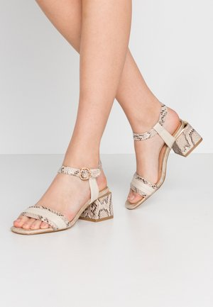 Sandals - cream