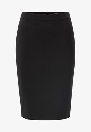 VILEA SLIM FIT - Jupe crayon - black
