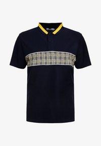 Topman - CHECK - Polo - dark blue - 3