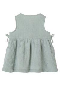 Vertbaudet - Jersey dress - graugrün - 1