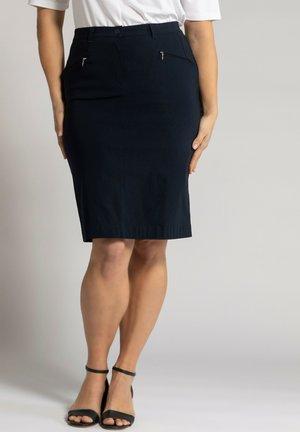 BENGALINE  - Mini skirt - marine