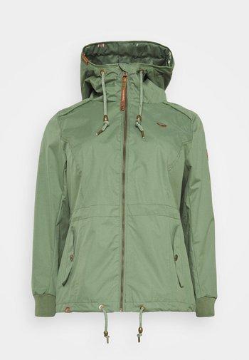 DANKA - Summer jacket - olive