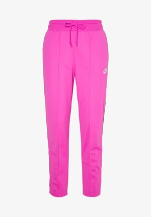 Tracksuit bottoms - fire pink/black
