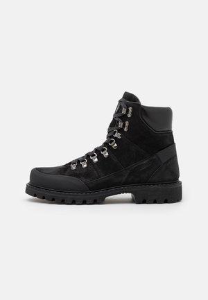 HELSINKI  - Lace-up ankle boots - black