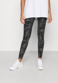 Nike Sportswear - TIGHT - Leggings - Trousers - black - 0