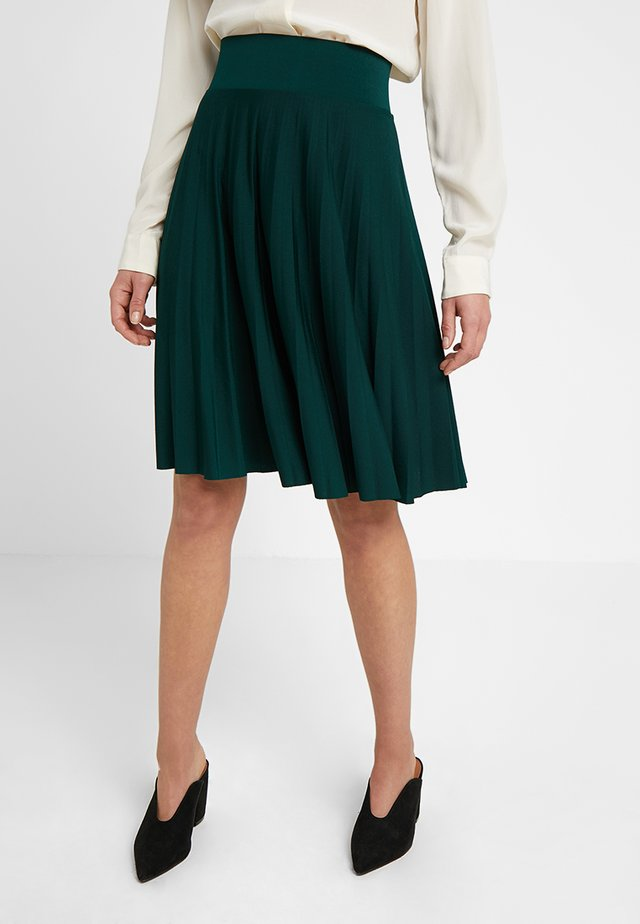 A-line skirt - scarab