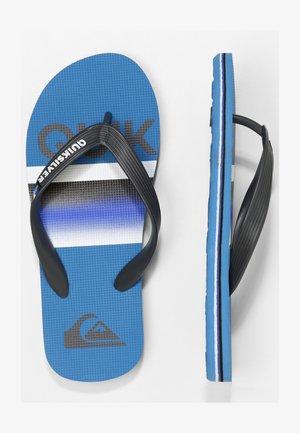 MOLOKAI SLAB  - Pool shoes - grey/blue/blue