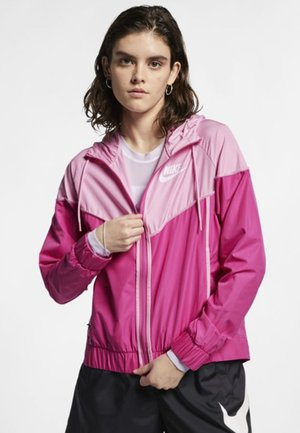 Summer jacket - active fuchsia/pink rise/white