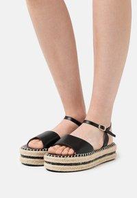 BEBO - MONROE - Platform sandals - black - 0