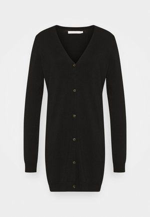 PCESERA LONG - Cardigan - black