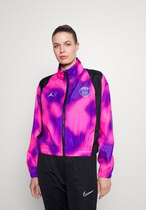 JORDAN PARIS ST GERMAIN WARM UP - Club wear - psychic purple/black