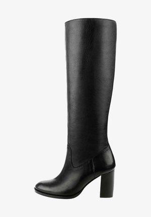 OAGGIANO - Stivali con i tacchi - black
