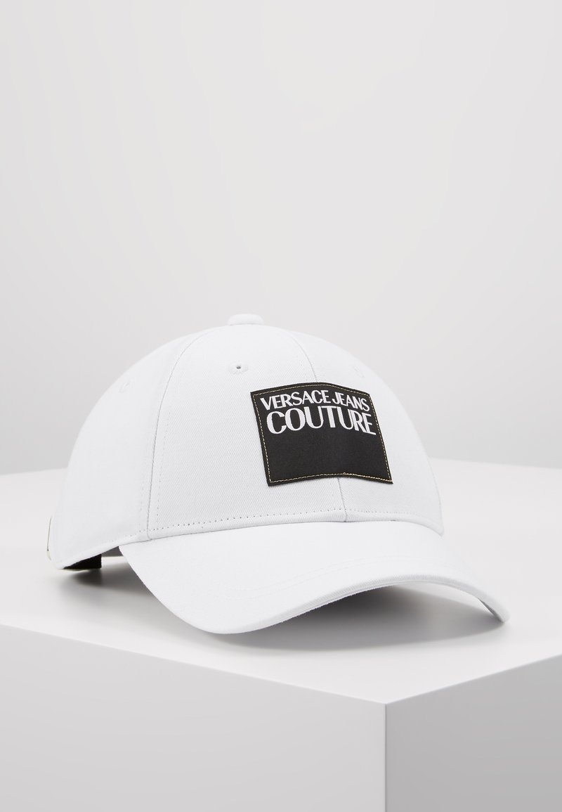 Versace Jeans Couture - VISOR LABEL - Keps - white