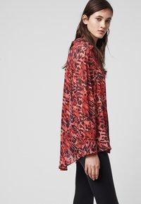 AllSaints - BERNIE AMBIENT - Skjortebluser - red - 3