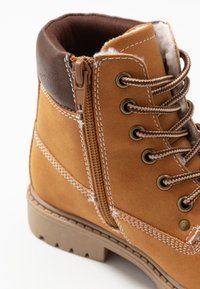 Friboo - Lace-up ankle boots - cognac - 2