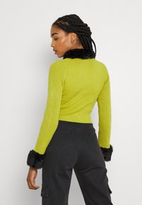 The Ragged Priest - LATE CARDI - Vest - lime/black - 2