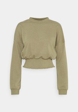NMMILY SMOCK - Sweatshirt - aloe