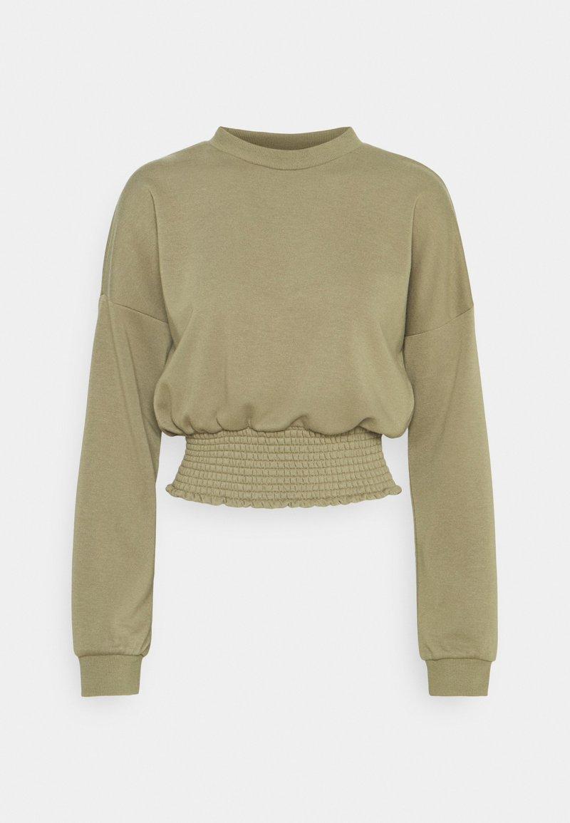 Noisy May - NMMILY SMOCK - Sweatshirt - aloe