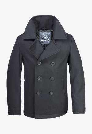 PEA COAT - Lehká bunda - black