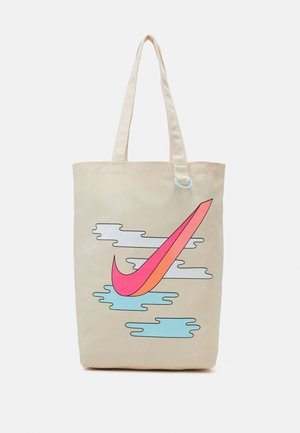 HERITAGE UNISEX - Shopping Bag - natural/hyper pink