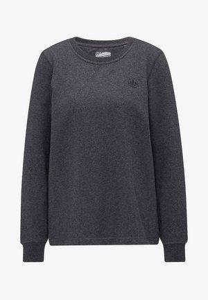 Mikina - mottled grey