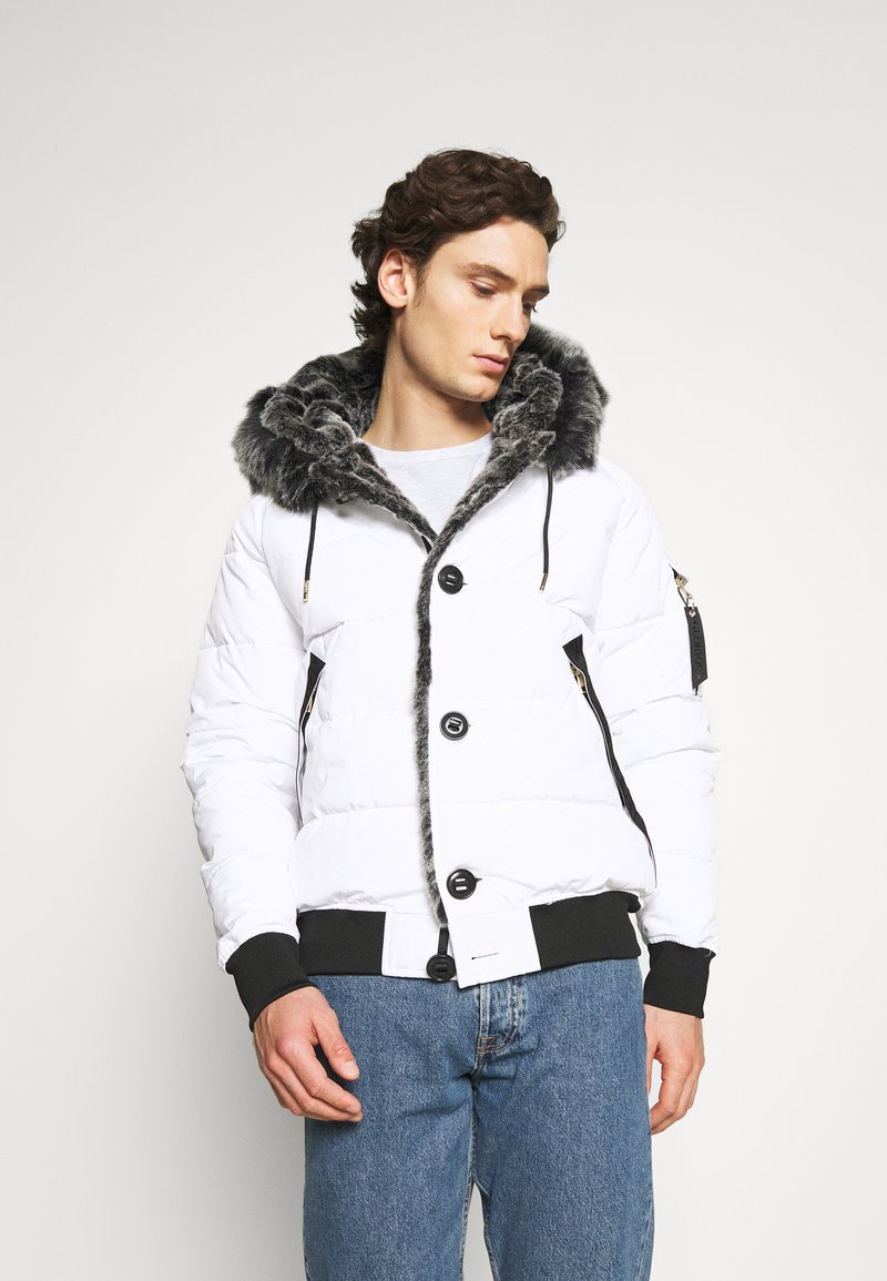 Glorious Gangsta - NAVIER - Winter jacket - white