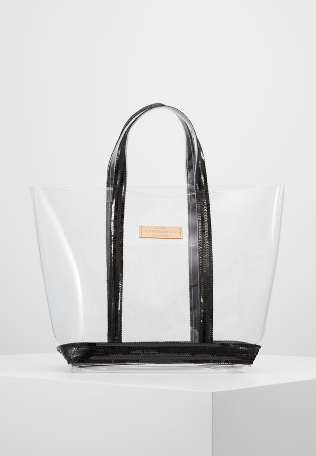 CABAS MOYEN - Shopping bag - noir/citron