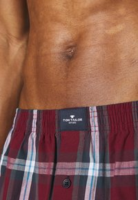 TOM TAILOR - 3 PACK - Boxer shorts - red dark - 4
