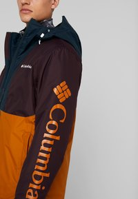 Columbia - TIMBERTURNER JACKET - Snowboardjacke - burnished amber/black cherry - 4