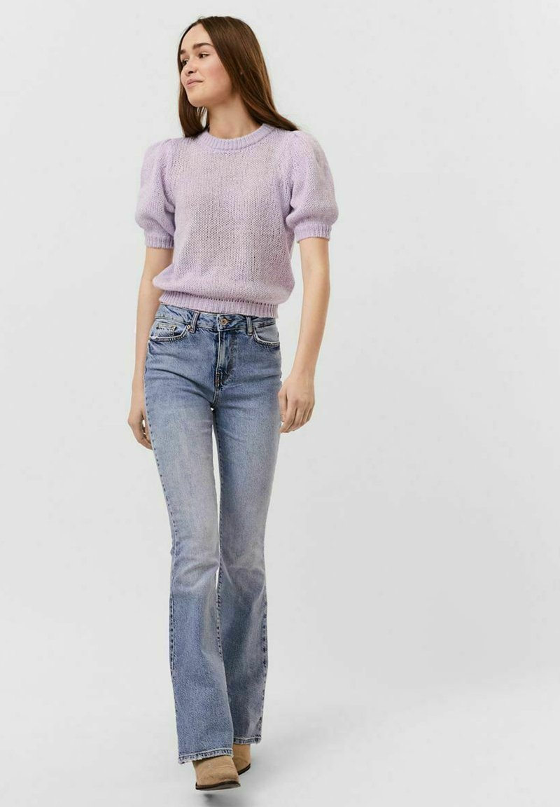 Vero Moda - VMOUI HEDWIG - Strickpullover - pastel lilac