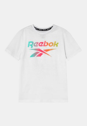 RAINBOW LOGO TEE UNISEX - T-shirt print - white